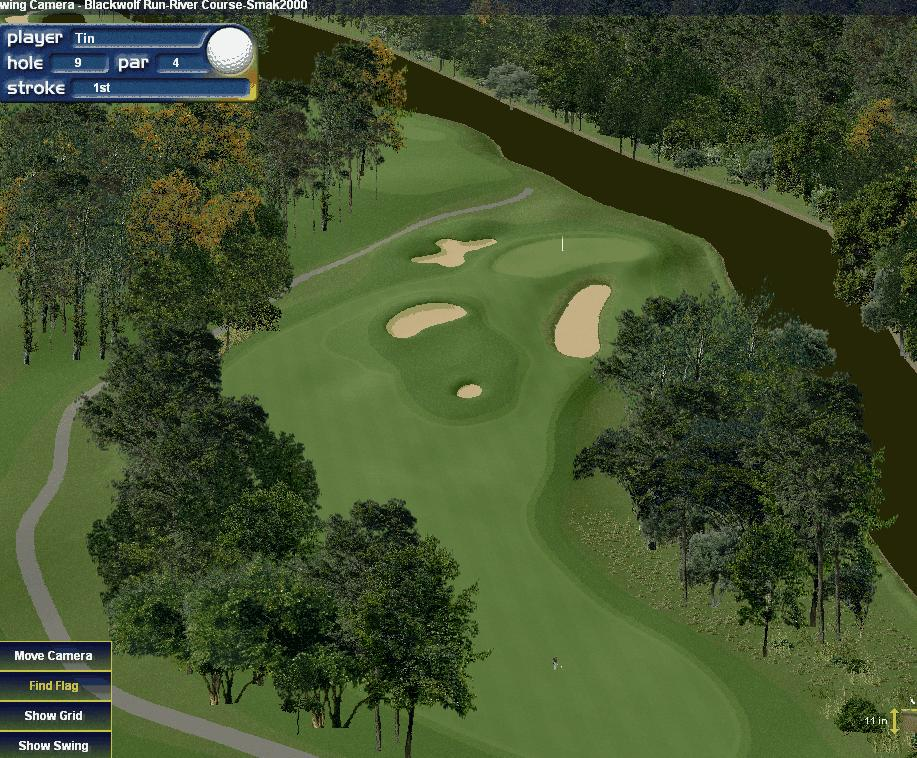Courses Of A River. PGA 2000 Courses - Real